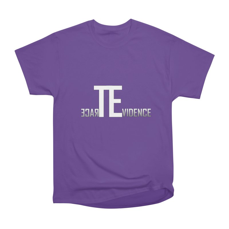 TE Podcast Men's Heavyweight T-Shirt by Trace Evidence - A True Crime Podcast
