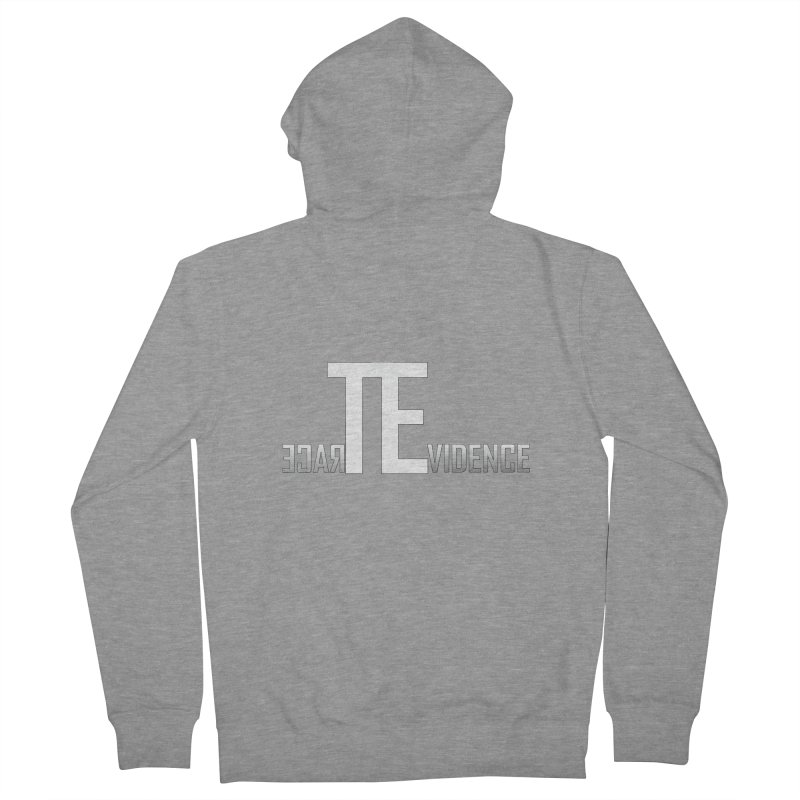 TE Podcast Women's French Terry Zip-Up Hoody by Trace Evidence - A True Crime Podcast