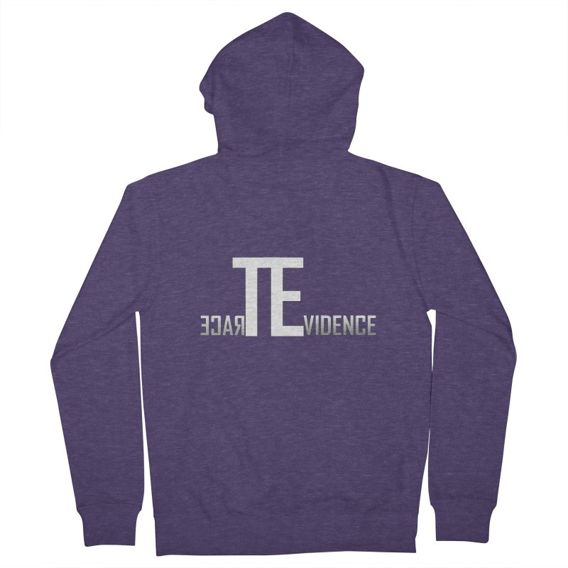 TE Podcast Men's French Terry Zip-Up Hoody by Trace Evidence - A True Crime Podcast