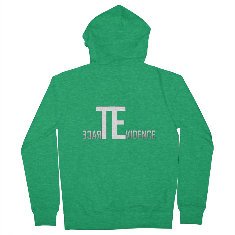 TE Podcast Men's Zip-Up Hoody by Trace Evidence - A True Crime Podcast