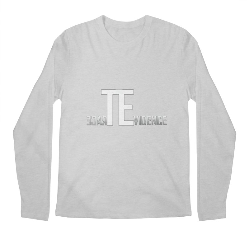 TE Podcast Men's Regular Longsleeve T-Shirt by Trace Evidence - A True Crime Podcast