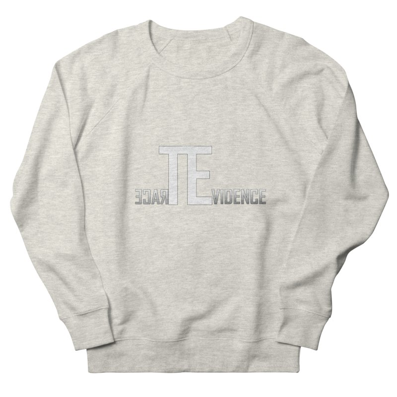 TE Podcast Women's French Terry Sweatshirt by Trace Evidence - A True Crime Podcast