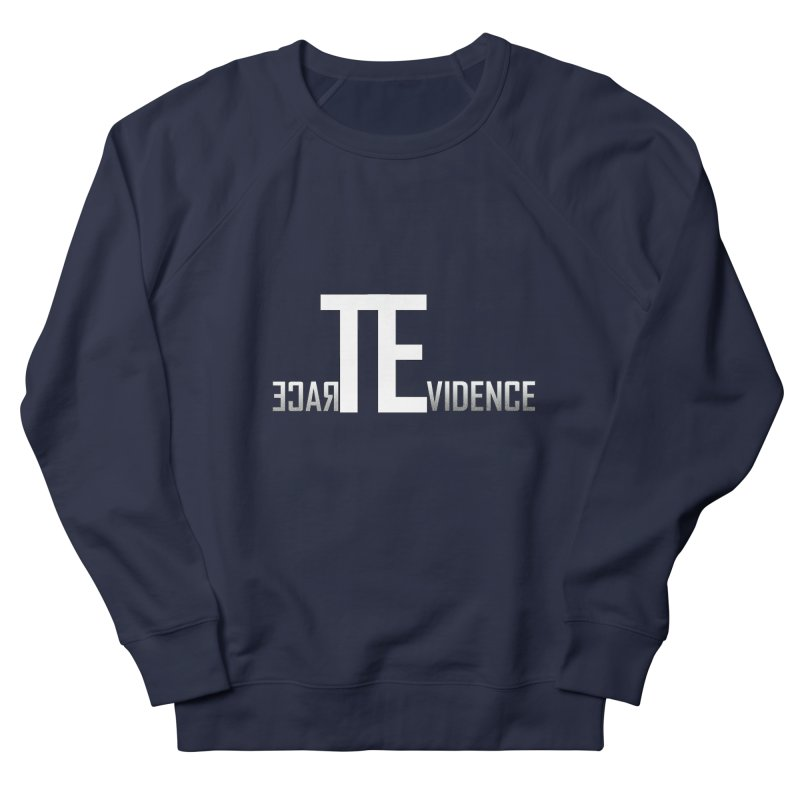 TE Podcast Men's French Terry Sweatshirt by Trace Evidence - A True Crime Podcast