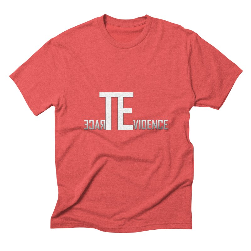 TE Podcast Men's Triblend T-Shirt by Trace Evidence - A True Crime Podcast