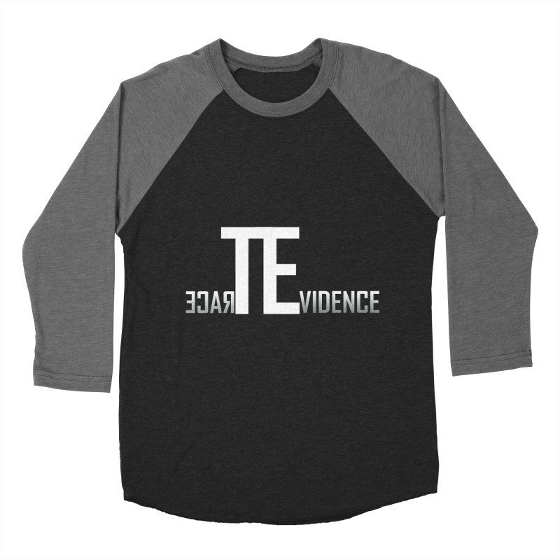 TE Podcast Women's Baseball Triblend Longsleeve T-Shirt by Trace Evidence - A True Crime Podcast