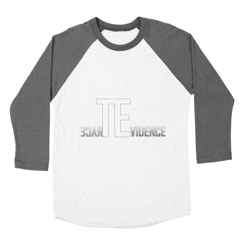 TE Podcast Men's Baseball Triblend Longsleeve T-Shirt by Trace Evidence - A True Crime Podcast