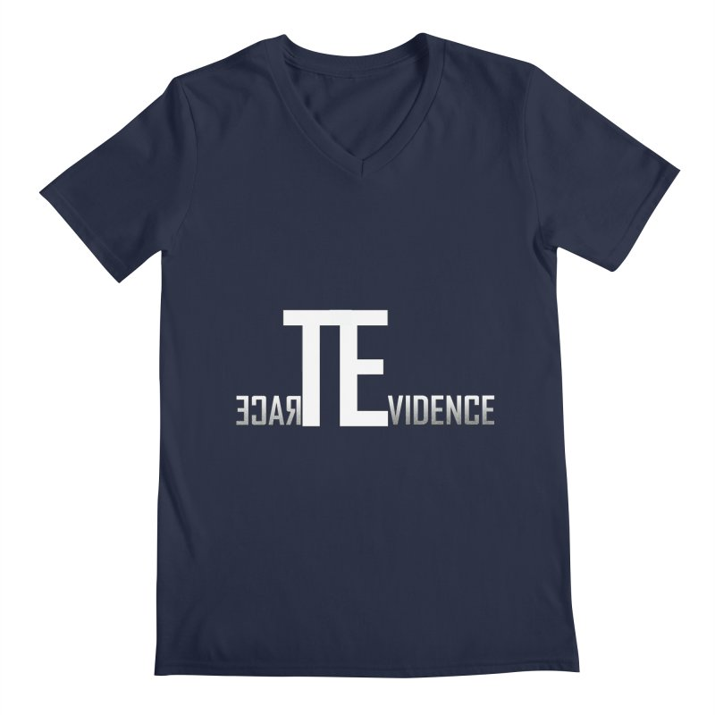 TE Podcast Men's Regular V-Neck by Trace Evidence - A True Crime Podcast
