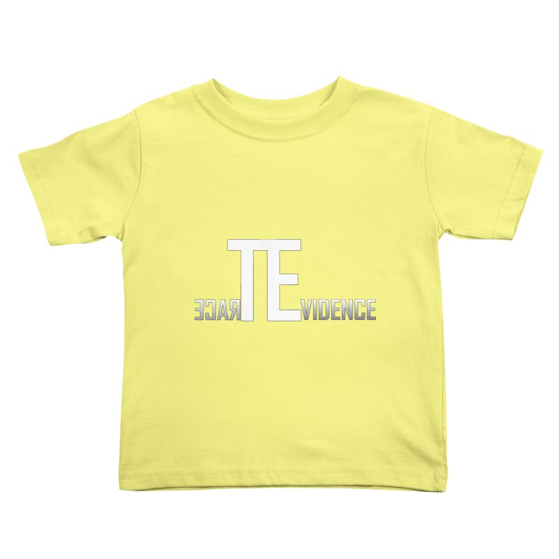 TE Podcast Kids Toddler T-Shirt by Trace Evidence - A True Crime Podcast