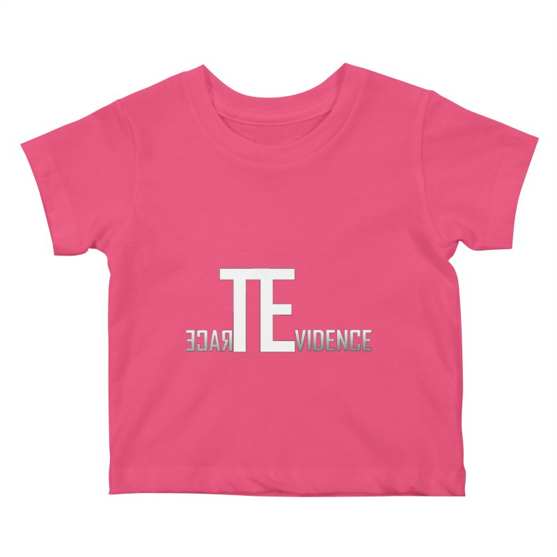 TE Podcast Kids Baby T-Shirt by Trace Evidence - A True Crime Podcast