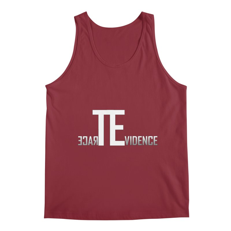 TE Podcast Men's Tank by Trace Evidence - A True Crime Podcast