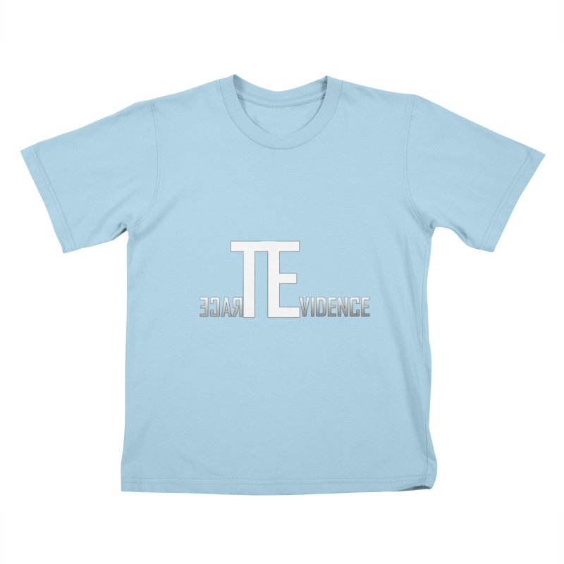 TE Podcast Kids T-Shirt by Trace Evidence - A True Crime Podcast