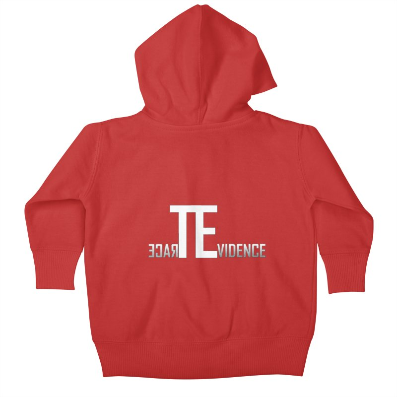 TE Podcast Kids Baby Zip-Up Hoody by Trace Evidence - A True Crime Podcast