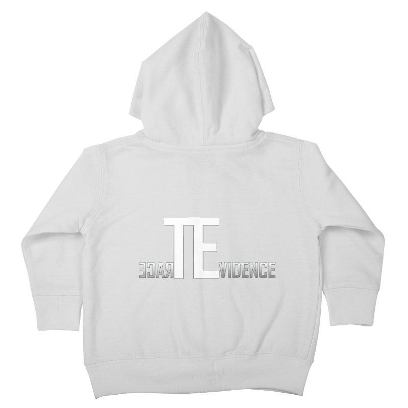 TE Podcast Kids Toddler Zip-Up Hoody by Trace Evidence - A True Crime Podcast