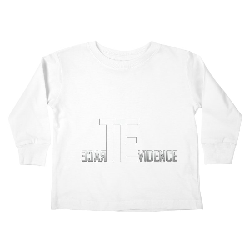 TE Podcast Kids Toddler Longsleeve T-Shirt by Trace Evidence - A True Crime Podcast