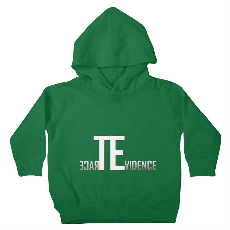 TE Podcast Kids Toddler Pullover Hoody by Trace Evidence - A True Crime Podcast