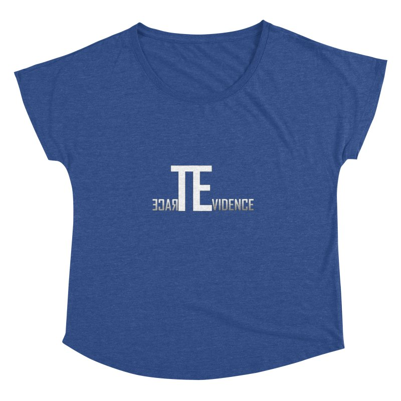 TE Podcast Women's Dolman Scoop Neck by Trace Evidence - A True Crime Podcast