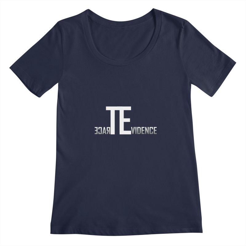 TE Podcast Women's Regular Scoop Neck by Trace Evidence - A True Crime Podcast