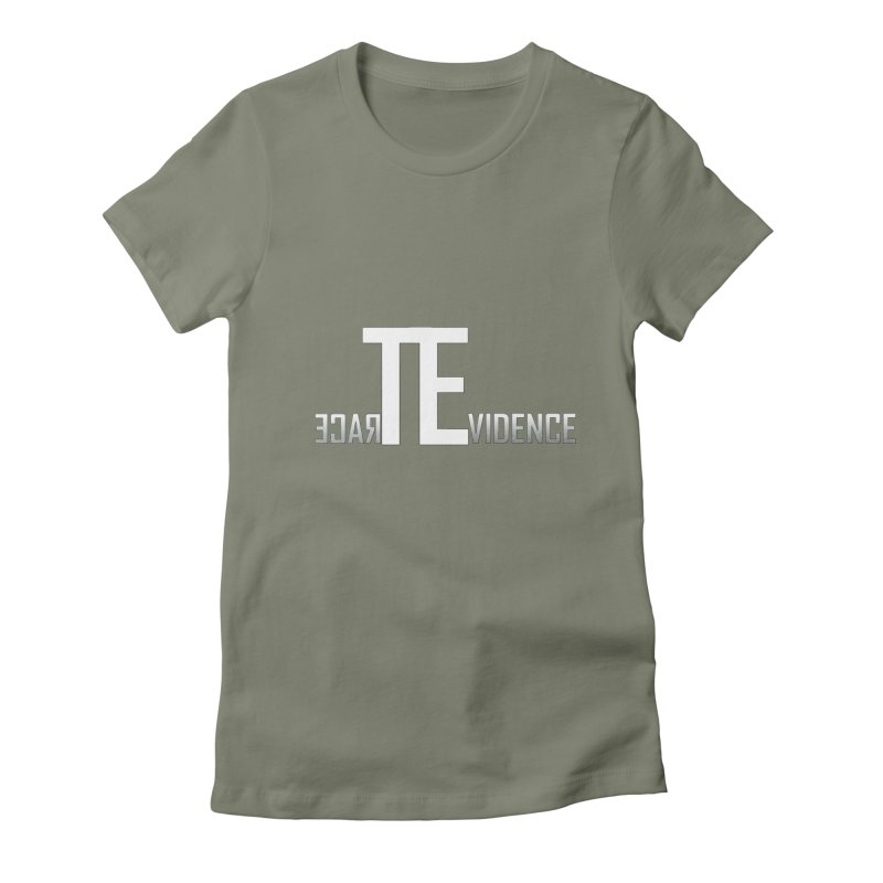 TE Podcast Women's Fitted T-Shirt by Trace Evidence - A True Crime Podcast