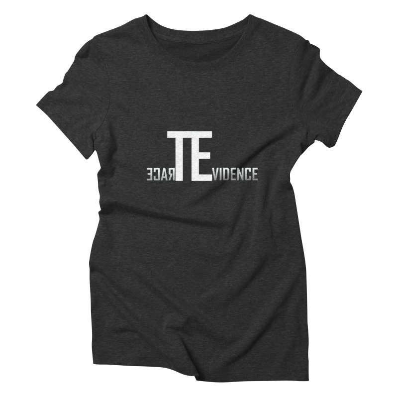 TE Podcast Women's Triblend T-Shirt by Trace Evidence - A True Crime Podcast