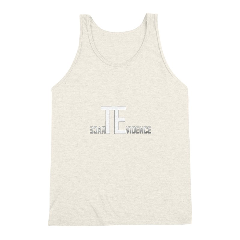 TE Podcast Men's Triblend Tank by Trace Evidence - A True Crime Podcast