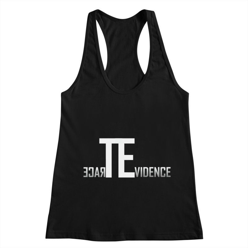 TE Podcast Women's Racerback Tank by Trace Evidence - A True Crime Podcast