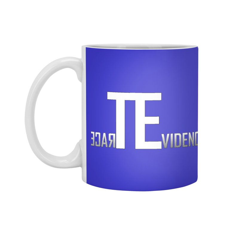 TE Podcast Accessories Standard Mug by Trace Evidence - A True Crime Podcast