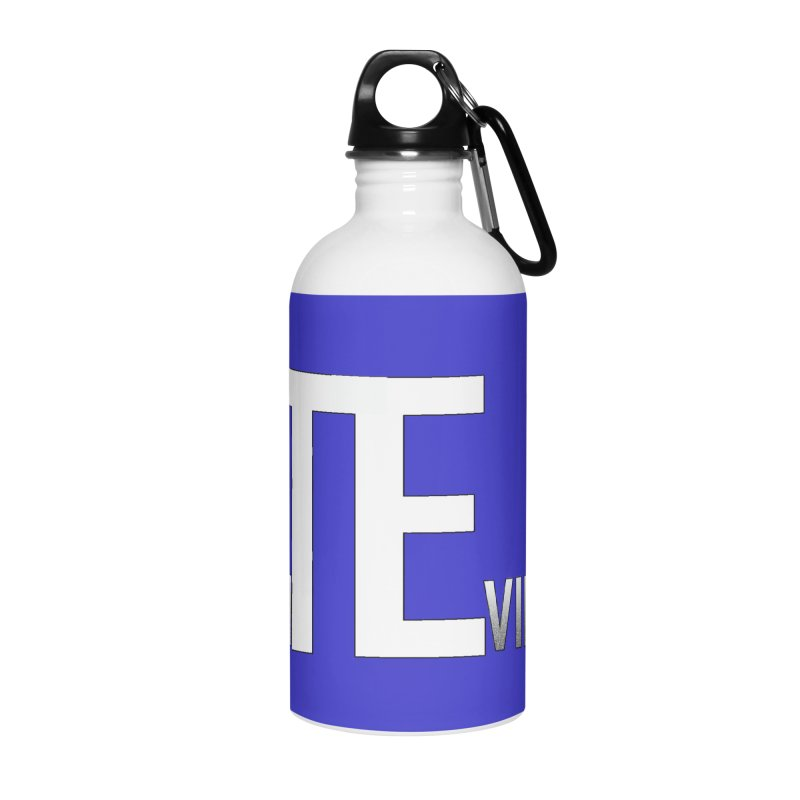 TE Podcast Accessories Water Bottle by Trace Evidence - A True Crime Podcast