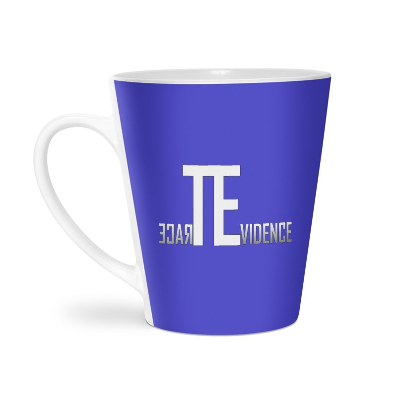 TE Podcast Accessories Latte Mug by Trace Evidence - A True Crime Podcast