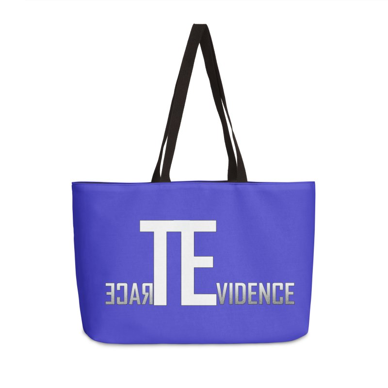 TE Podcast Accessories Weekender Bag Bag by Trace Evidence - A True Crime Podcast