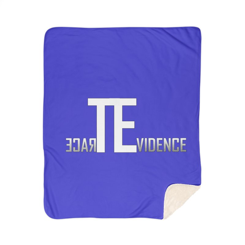 TE Podcast Home Sherpa Blanket Blanket by Trace Evidence - A True Crime Podcast