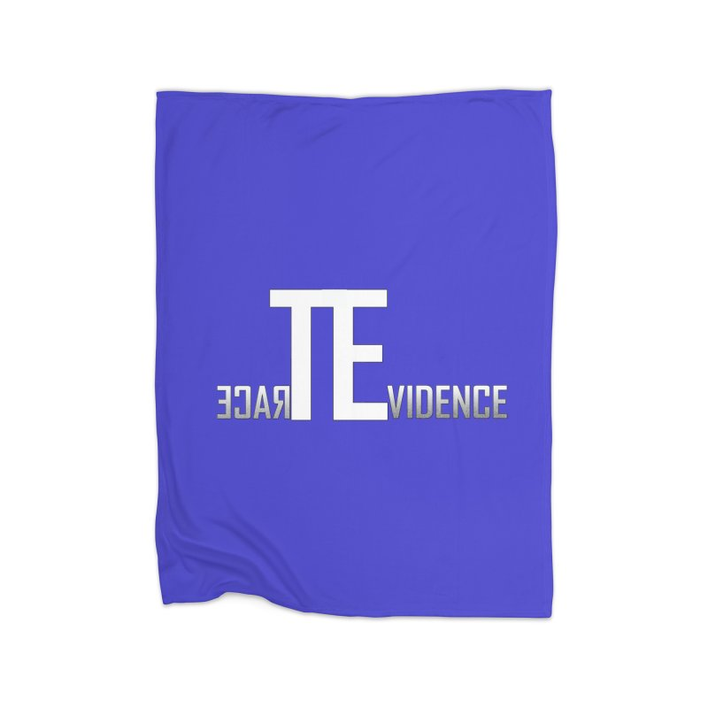 TE Podcast Home Fleece Blanket Blanket by Trace Evidence - A True Crime Podcast