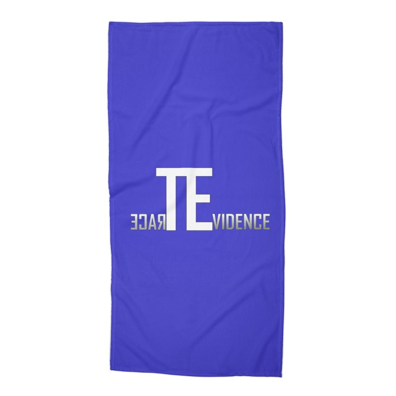 TE Podcast Accessories Beach Towel by Trace Evidence - A True Crime Podcast