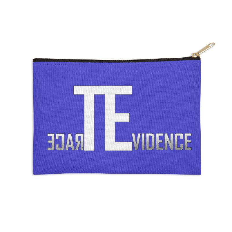 TE Podcast Accessories Zip Pouch by Trace Evidence - A True Crime Podcast