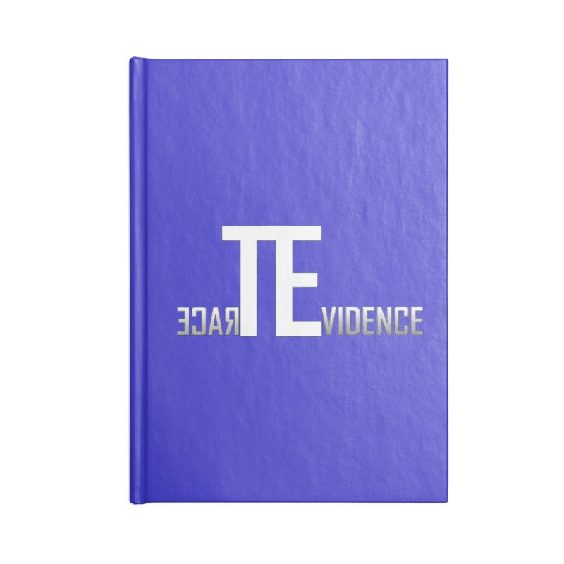 TE Podcast Accessories Blank Journal Notebook by Trace Evidence - A True Crime Podcast