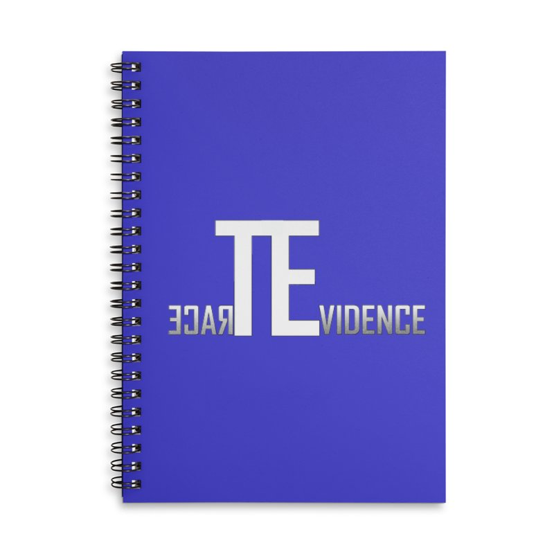 TE Podcast Accessories Notebook by Trace Evidence - A True Crime Podcast
