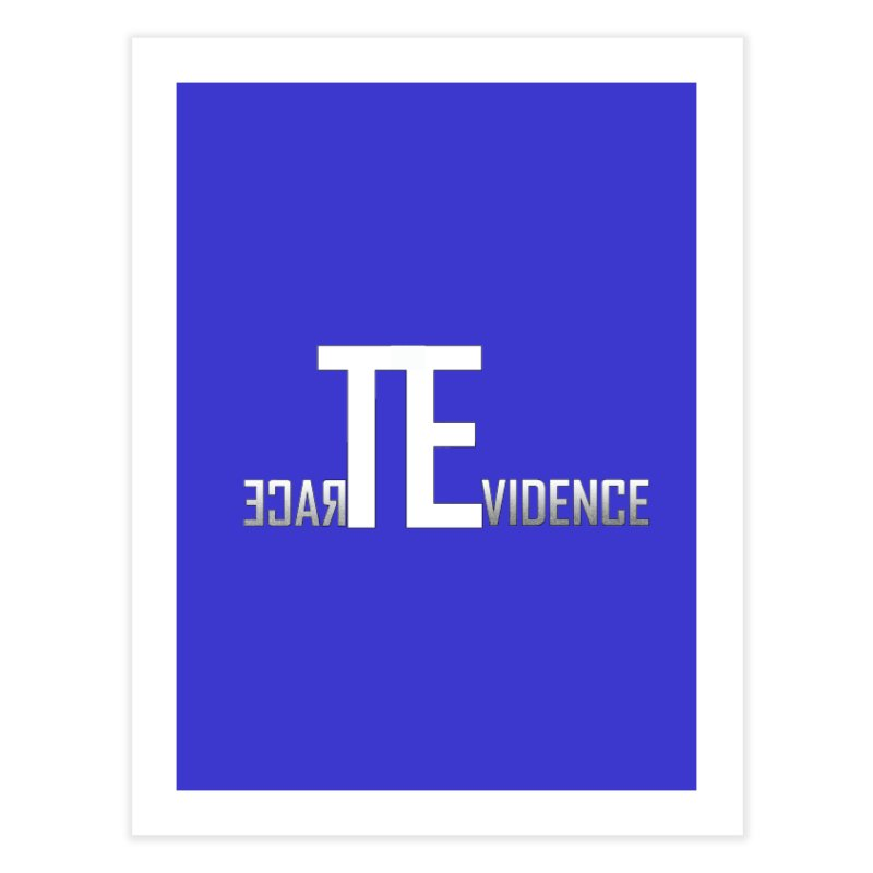 TE Podcast Home Fine Art Print by Trace Evidence - A True Crime Podcast