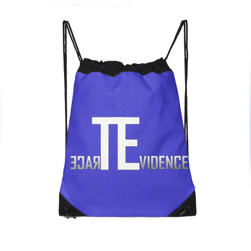 TE Podcast Accessories Drawstring Bag Bag by Trace Evidence - A True Crime Podcast