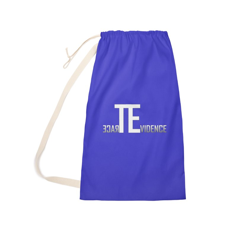 TE Podcast Accessories Laundry Bag Bag by Trace Evidence - A True Crime Podcast