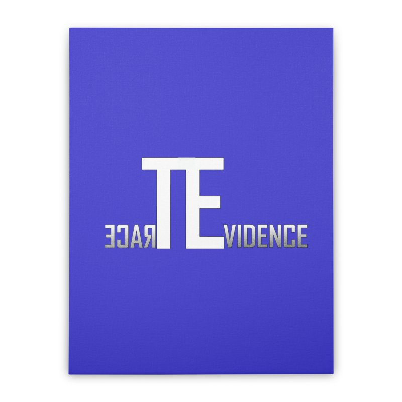 TE Podcast Home Stretched Canvas by Trace Evidence - A True Crime Podcast
