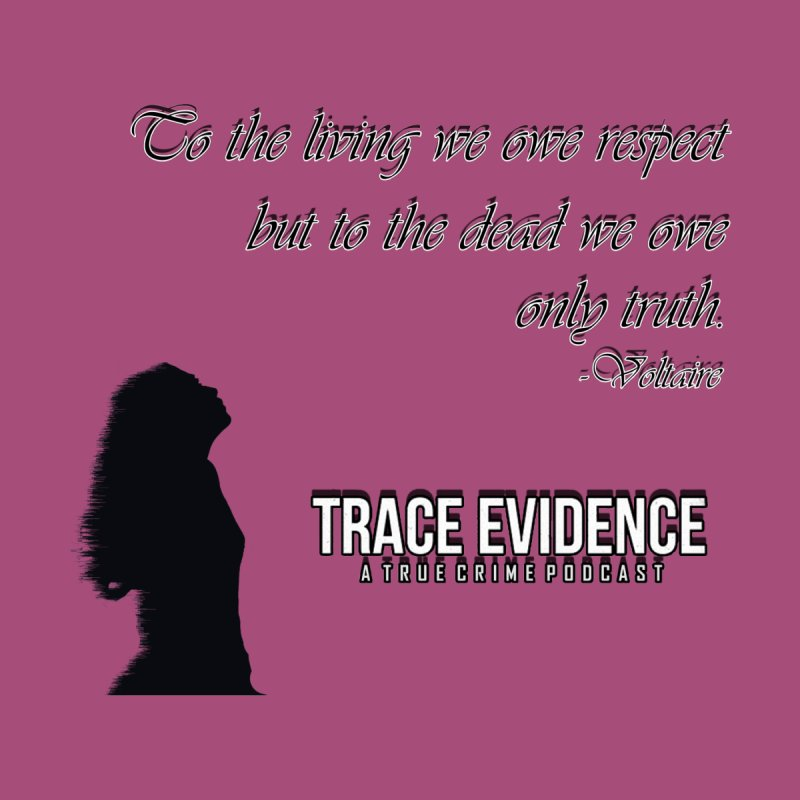 Voltaire Silhouette Home Fine Art Print by Trace Evidence - A True Crime Podcast