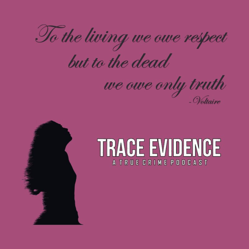 Voltaire Silhouette   by Trace Evidence - A True Crime Podcast