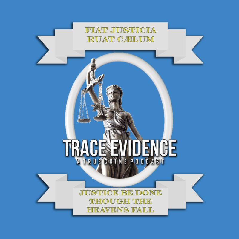 Justice Men's Longsleeve T-Shirt by Trace Evidence - A True Crime Podcast