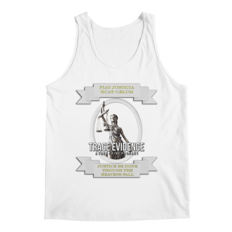 Justice Men's Tank by Trace Evidence - A True Crime Podcast