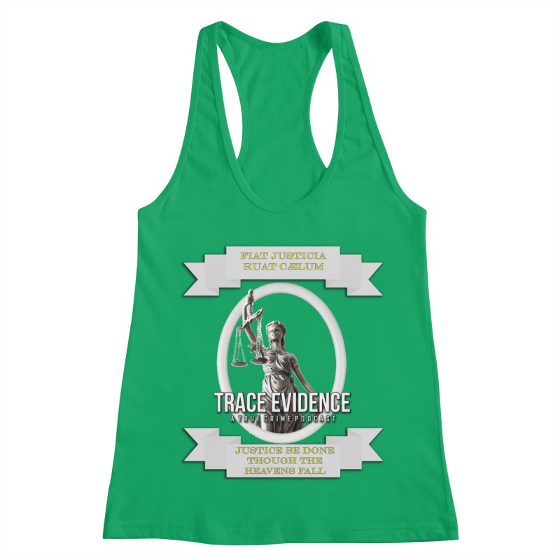 Justice Women's Tank by Trace Evidence - A True Crime Podcast