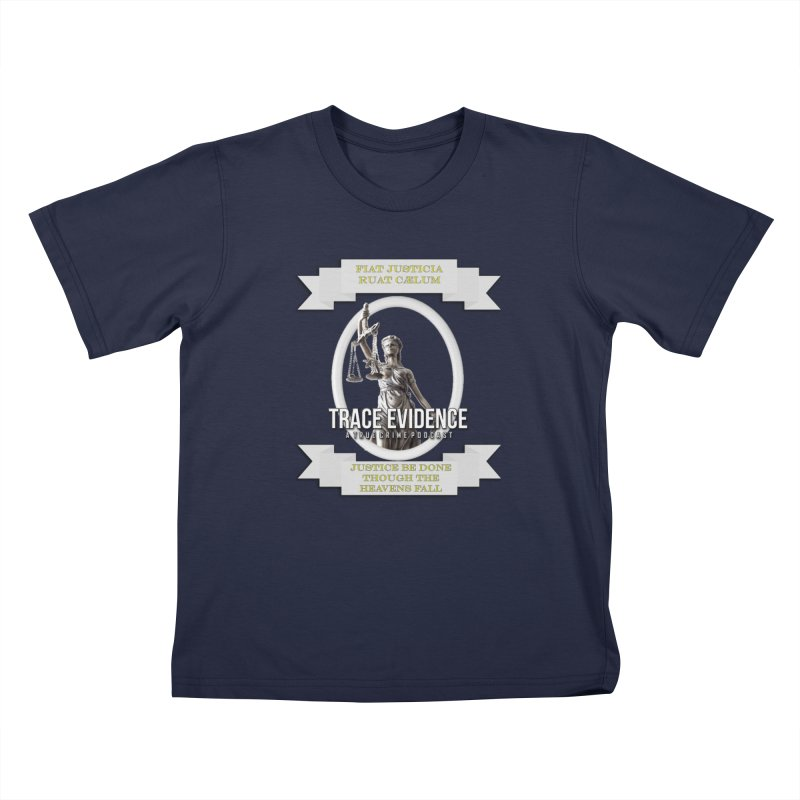 Justice Kids T-Shirt by Trace Evidence - A True Crime Podcast