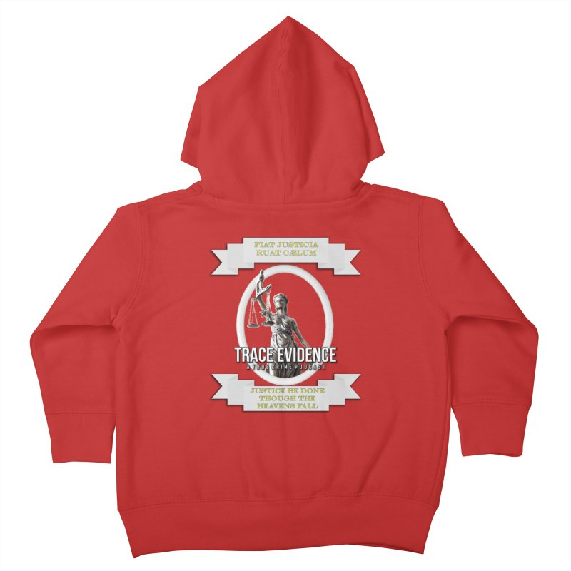 Justice Kids Toddler Zip-Up Hoody by Trace Evidence - A True Crime Podcast