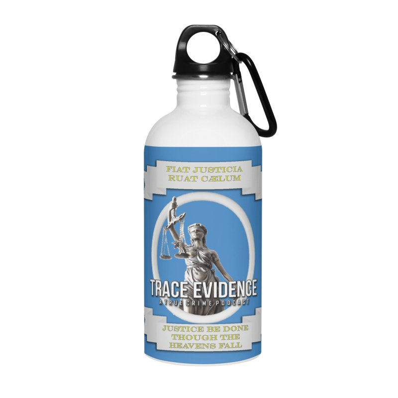 Justice Accessories Water Bottle by Trace Evidence - A True Crime Podcast