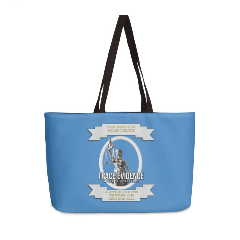 Justice Accessories Weekender Bag Bag by Trace Evidence - A True Crime Podcast