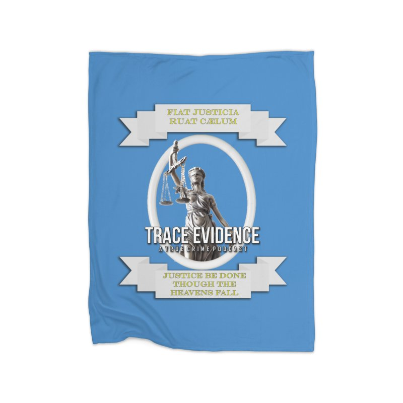 Justice Home Blanket by Trace Evidence - A True Crime Podcast