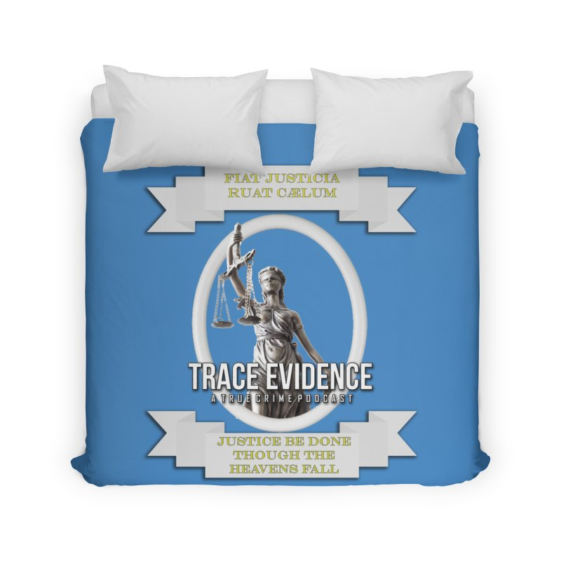 Justice Home Duvet by Trace Evidence - A True Crime Podcast
